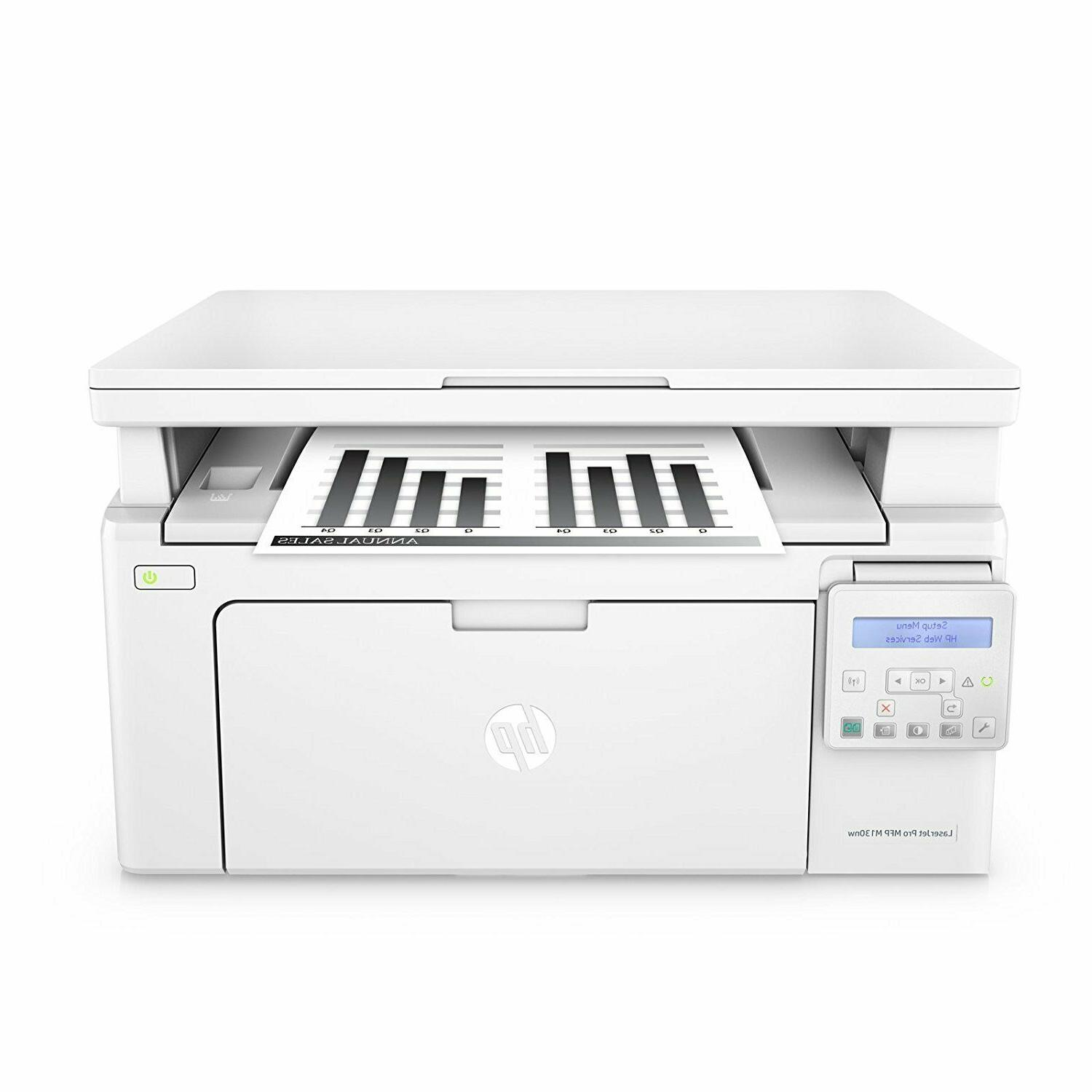brand new laserjet pro m130nw all in