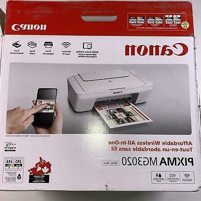 Canon Pixma MG3020 Wireless All One New Shipping