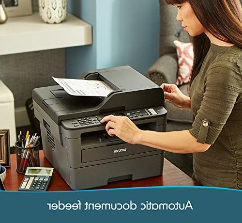 Brother Monochrome Compact All-In Printer, Networking and Amazon