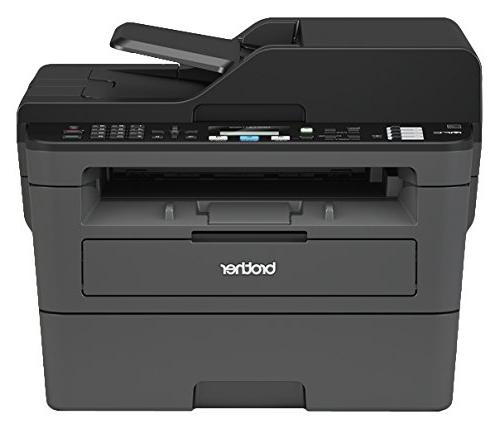 Brother Printer, Compact All-In One Multifunction Printer, Networking and Duplex Printing, Amazon Dash Enabled