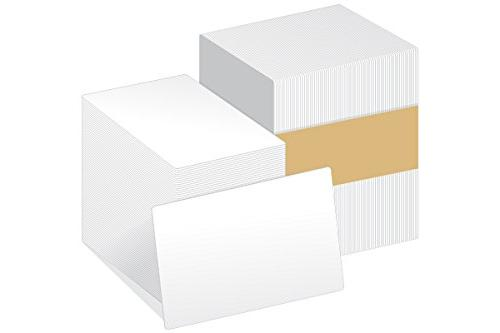 cr80 blank white pvc cards