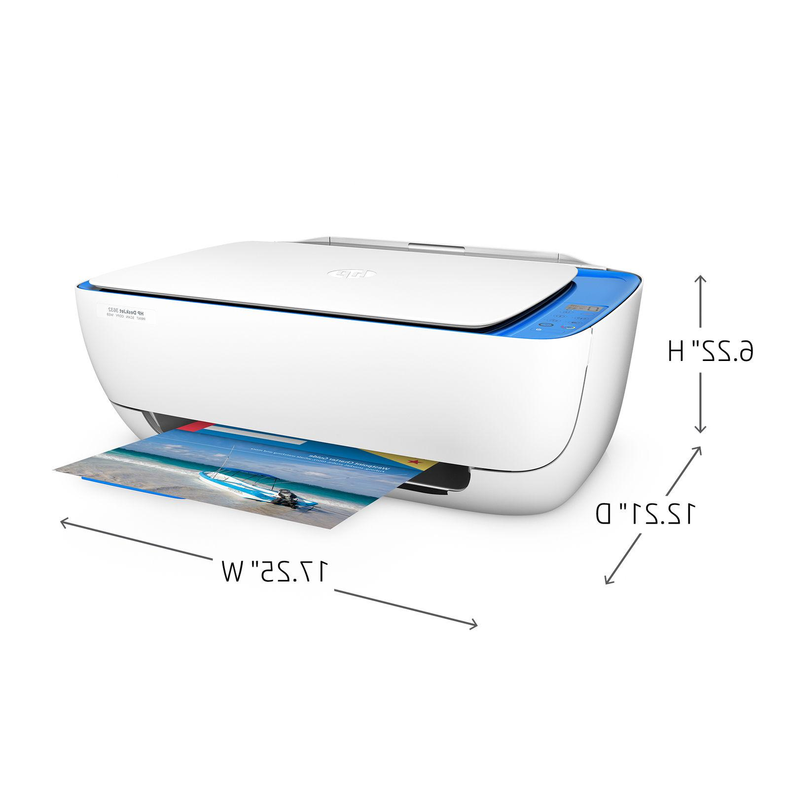 HP DeskJet All-in-One Printer, INK INCLUDED