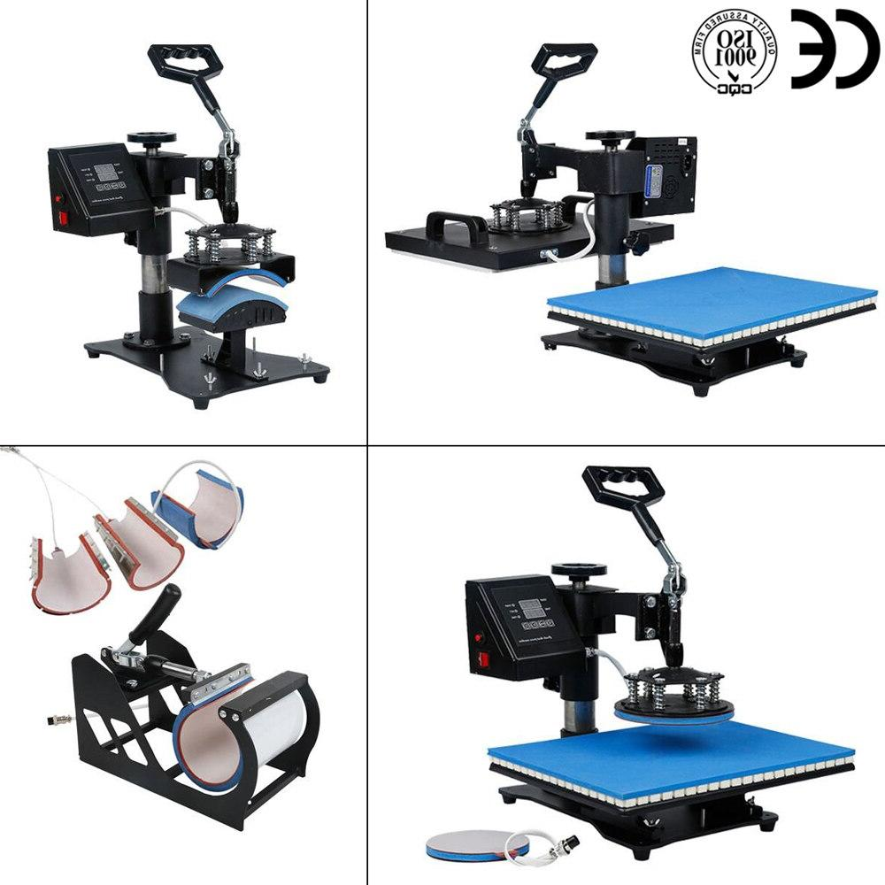doubl 30*38CM in 1 press Machine 2D for Cap Mug Plate Tshirts CE