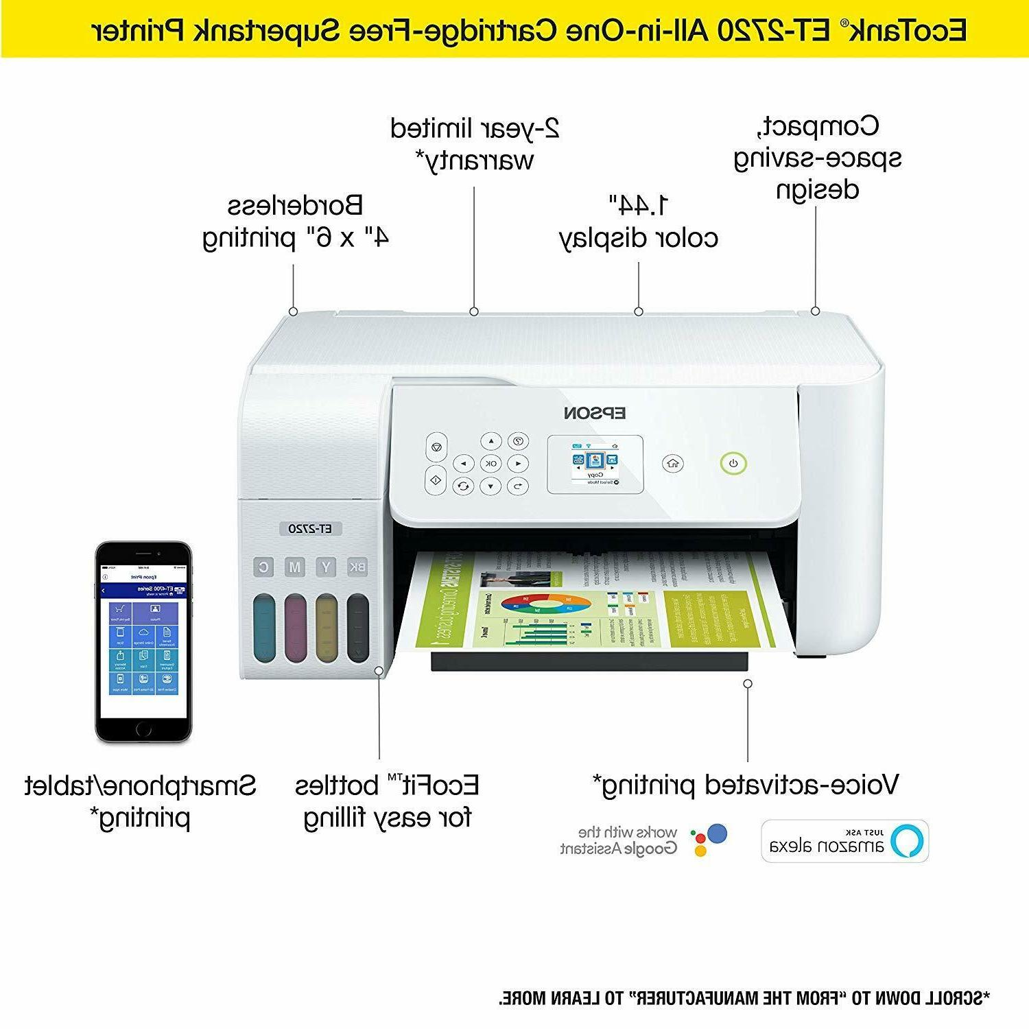 Epson Color All-in-One Supertank White