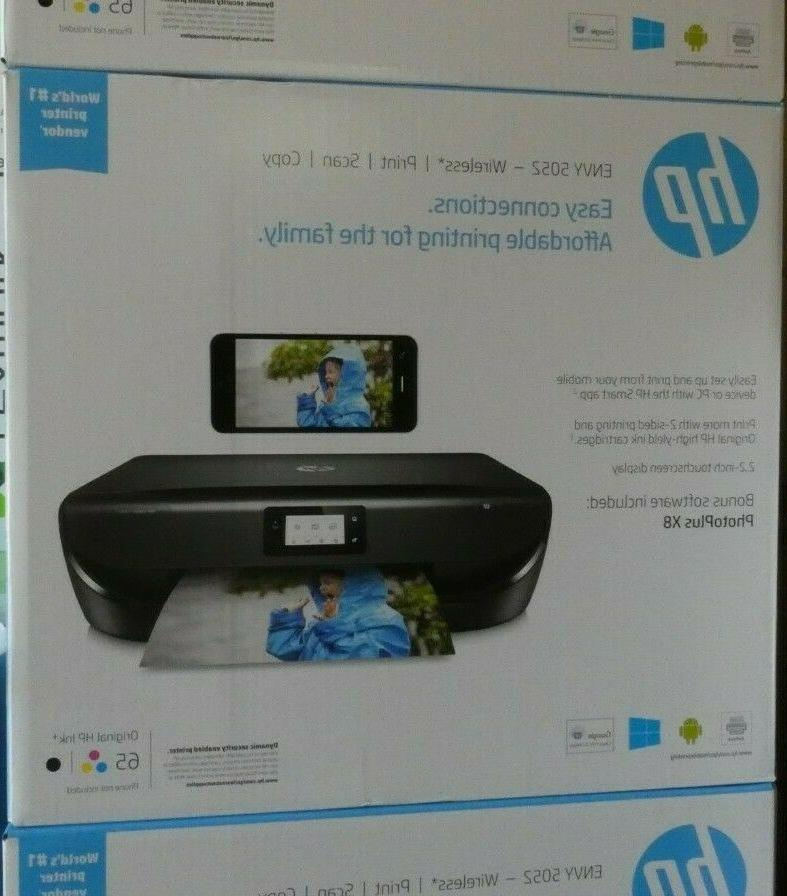 envy 5052 all in one inkjet wireless