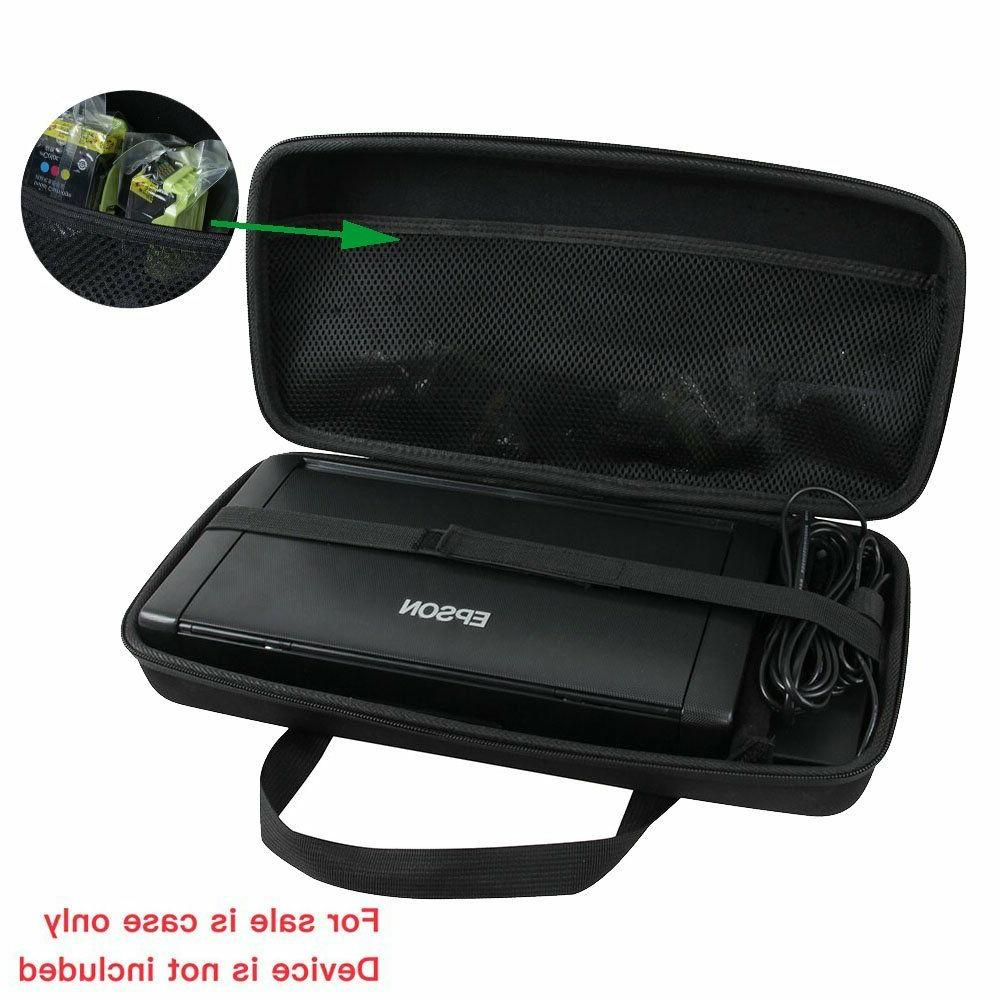 Epson Printer Case Wireless Carrying Portable Hard For Trave