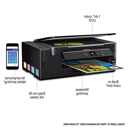 Epson Expression ET-2650 EcoTank Wireless Color All-in-One