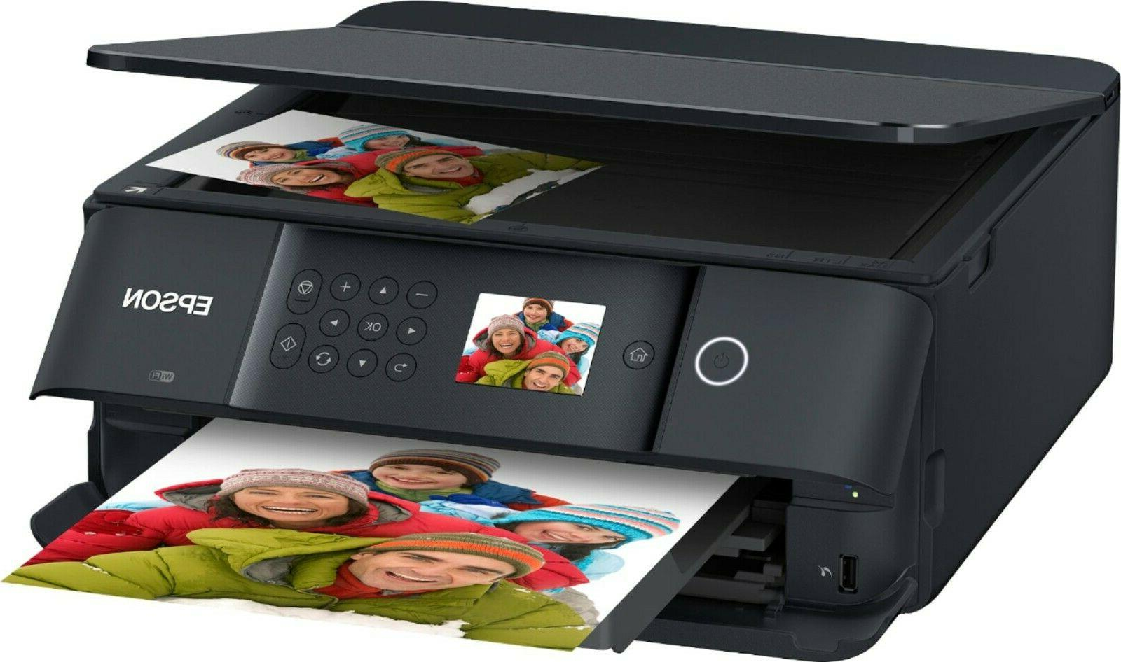 Epson Wireless Color Scanner All-In-One