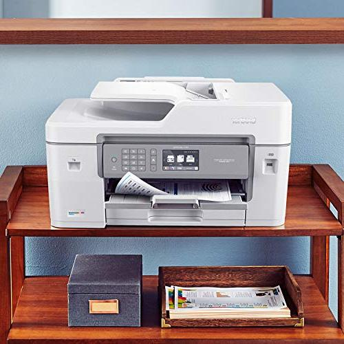 "Brother Inkjet INKvestment Color Inkjet Printer Printing, 11"" Scan Glass to 1-Year of in-Box"