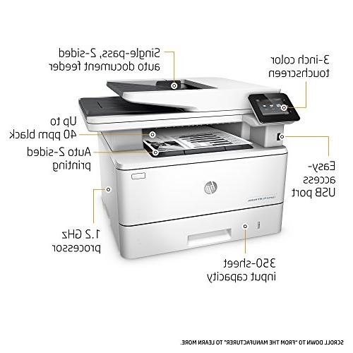 HP Multifunction Laser with Built-in Ethernet & Duplex Printing, Ready