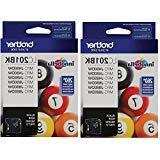 Brother LC201BK Standard Yield Ink cartridge BwhMqN, 2Pack