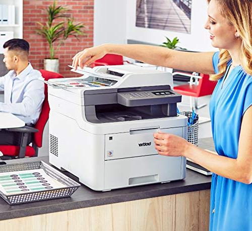 Brother Compact Color All-in-One Printer Laser Printer with Replenishment