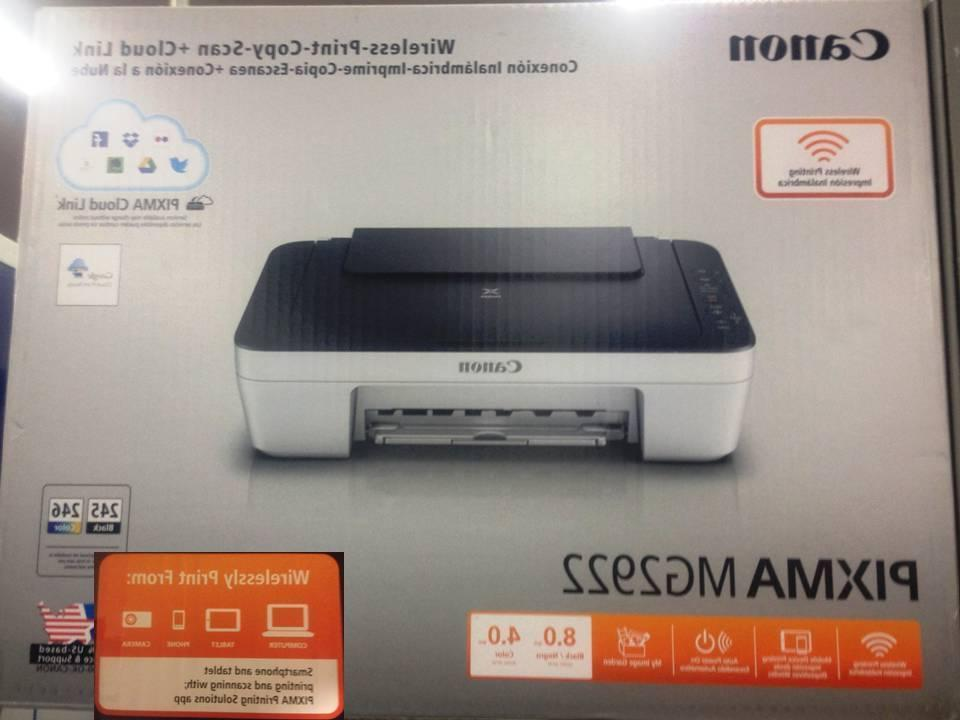 New Canon MG2922/3122 All-in-One Printer-Wireless-IPhone/Androia