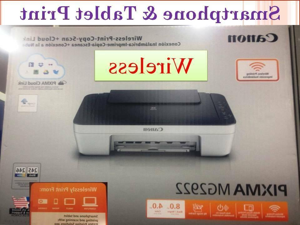 New Canon Printer-Wireless-IPhone/Androia