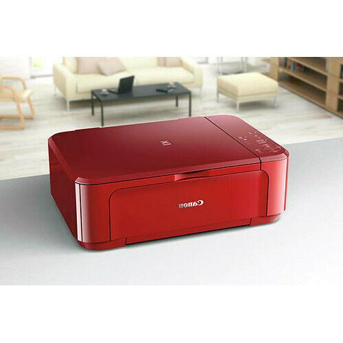 NEW! PIXMA MG3620 Wireless All-in-One Inkjet Red