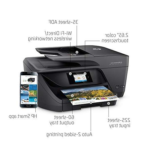 HP T0F28A#B1H OfficeJet 6968 All-in-One Wireless Printer with Printing, Ink