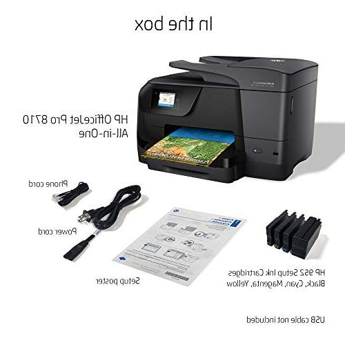 HP Pro 8710 All-in-One Mobile Printing, Instant Ink ready