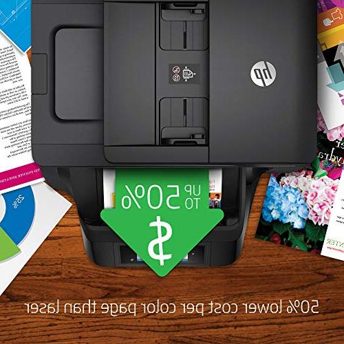 HP Pro All-in-One Wireless Printer with Mobile Printing, HP Instant Ink Replenishment