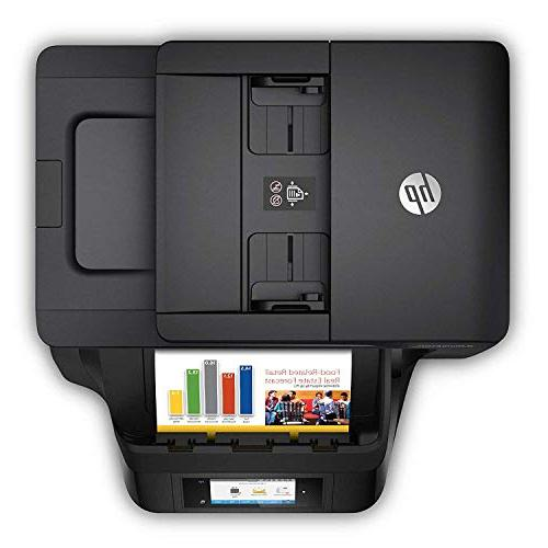 HP OfficeJet All-in-One Printer with Mobile Ink Dash Replenishment ready