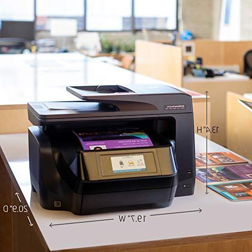 HP OfficeJet Pro 8720 All-in-One Wireless Printer Mobile Ink & Amazon Dash Replenishment