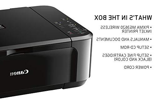 Canon PIXMA All-In-One Color with Mobile Printing, Black