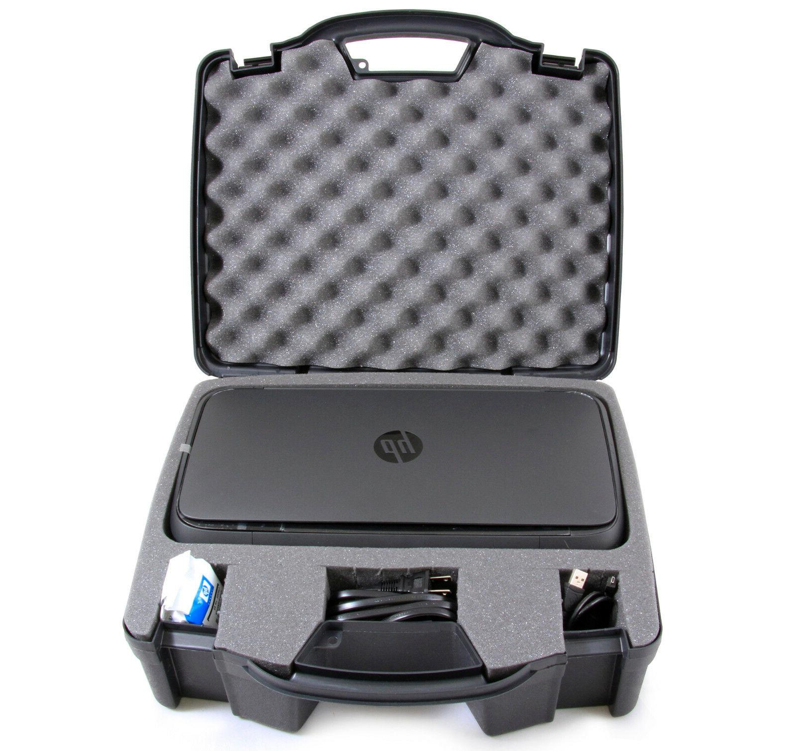 portable printer case for hp officejet 250