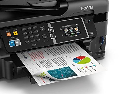 Epson WF-3620 Direct All-in-One Printer, Dash Replenishment Enabled