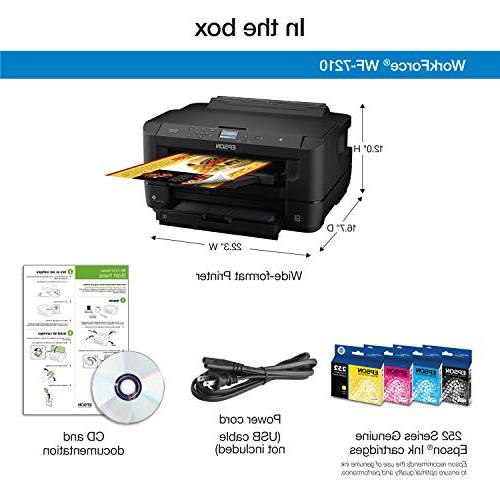 Workforce Wireless Color Printer with Wi-Fi Amazon Dash Enabled