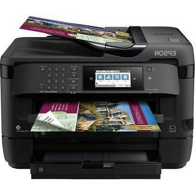 Workforce WF-7720 Color Inkjet with Copy, Scan, Direct and Ethernet, Dash Replenishment Enabled