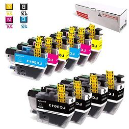 Sirensky LC3013 Ink Cartridges 10 Pack Compatible Brother LC