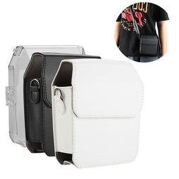 Leather Protective Cover Case Accessory for Fuji Instax SHAR