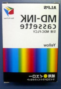 Alps MD Printer Ink Cartridge - Yellow MDC-FLCY - Replaces 1