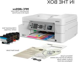 Brother MFC-J805DW Color Inkjet All-in-One Wireless Printer