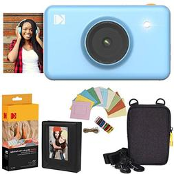 Kodak Mini Shot Instant Camera  Deluxe Bundle + Paper  + Del