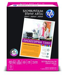 "HP Multipurpose Ultra White, 20lb, 8 1/2"" x 11"", 96 Bright,"