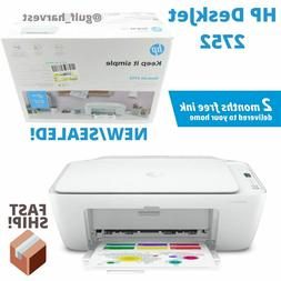 New HP DeskJet 2752 Wireless All-in-One Color Inkjet Printer