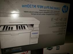 NEW HP LaserJet Pro MFP M130nw Wireless Black-and-White All-