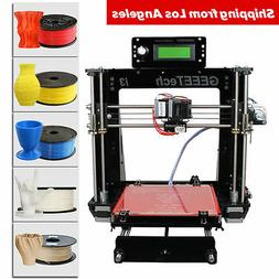 NO Tax in US GEEETECH Upgraded Acrylic Reprap 3D Printer Pro