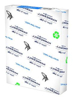 Hammermill Paper, Great White 100% Recycled Printer Paper, 8
