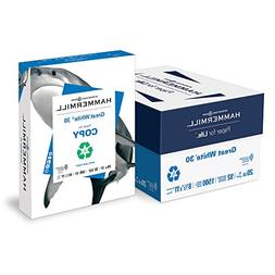 Hammermill Paper, Great White 30% Recycled Printer Paper, 8.
