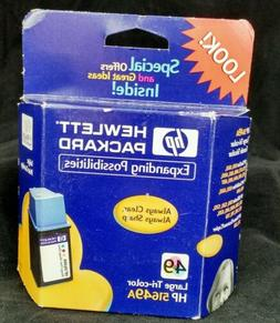 HP printer ink  51649A, 49A,  tri-color. Free shipping!   A3
