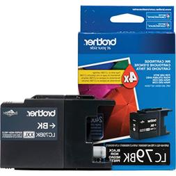 Brother Printer LC-79BK Super High Yield  Cartridge Ink - Re