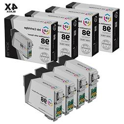 Remanufactured Replacements for Epson T0981 Set of 4 HY Ink
