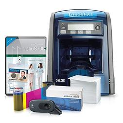 Datacard SD260 ID Card Printer System with Alphacard ID Suit