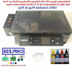 Sublimation Epson XP-446 / 442 ChipLess Mianboard Built-on T