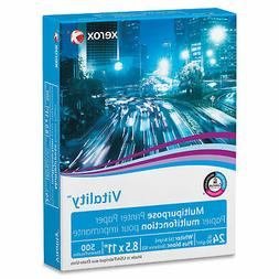 XEROX Vitality Multipurpose Printer Paper 8 1/2 x 11 White 5
