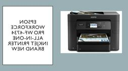 Epson WorkForce Pro WF-4734 All-in-One Printer:4-in-1 with W