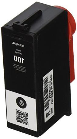 Lexmark standard yield 100 ink cartridge-Black