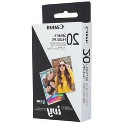 Canon Zink Photo Paper Pack, 20 sheets